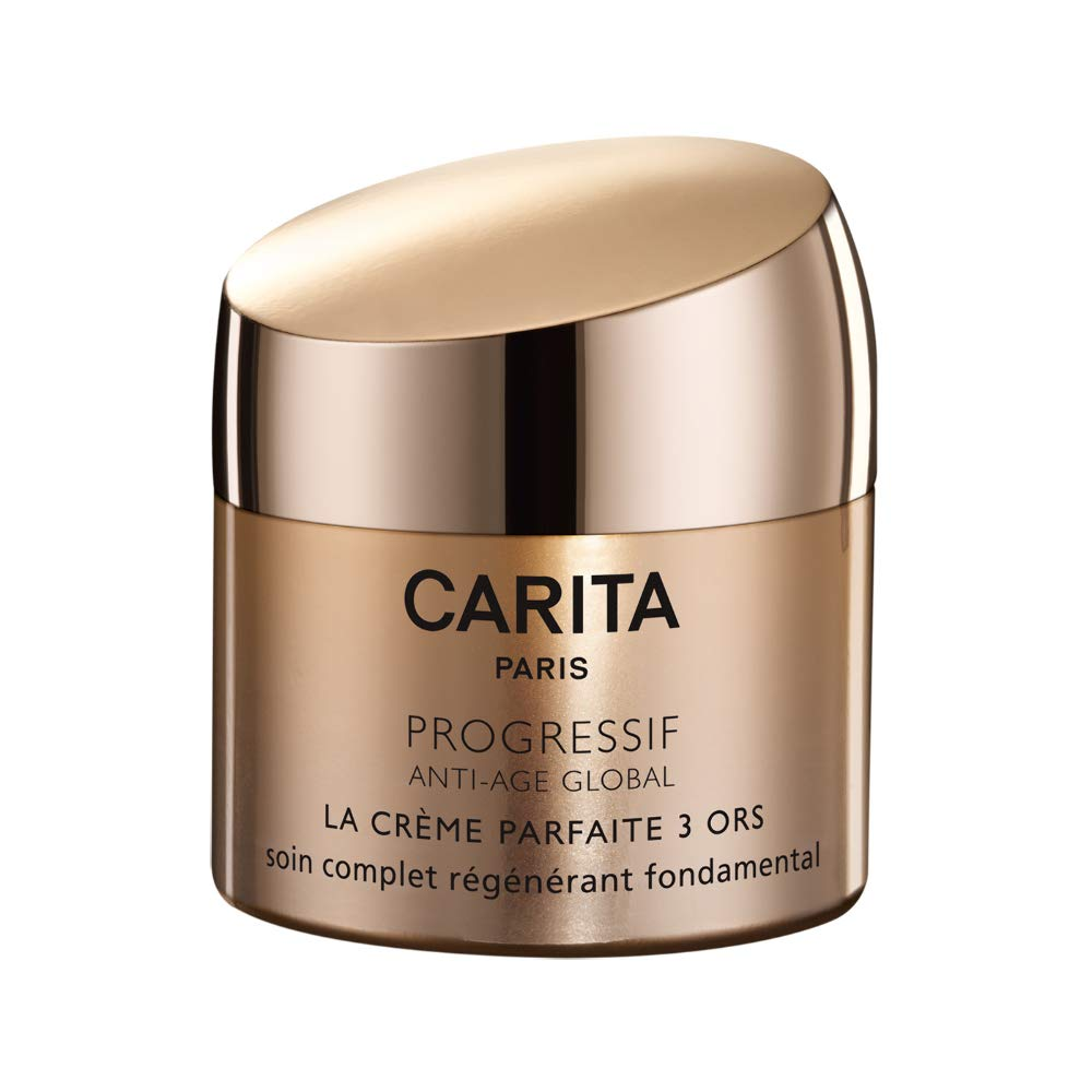 Carita Progressif Anti-Age Global Perfect Cream Trio Of Gold, 1.7 Ounce