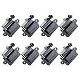 01 silverado coil pack - Scitoo Pack of 8 Square Ignition Coils Fit Cadillac Chevy GMC Hummer Isuzu Workhorse C1208 UF271