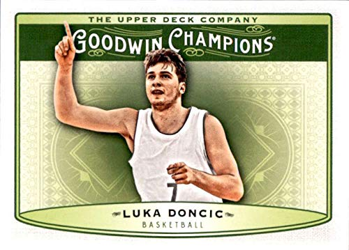 2019 Upper Deck Goodwin Champions #80 Luka Doncic Basketball Rookie Card