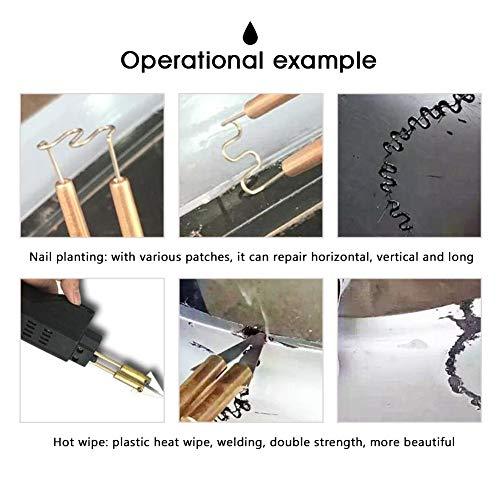 Plastic Welding Machine Portable Hot Stapler Plastic Repair Kit For Plastic Separating Repairing Welding 110V by Bespick (Image #2)