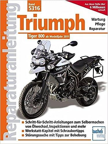 triumph tiger 800 werkstatthandbuch