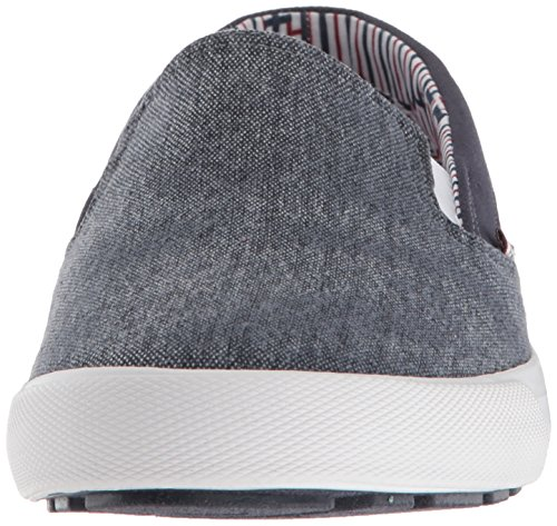 Ben Sherman Uomo Pete Slip On Sneaker Navy Lavato