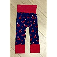 Woodland Fox Grow With Me Harem Pants Size 12-36 Months