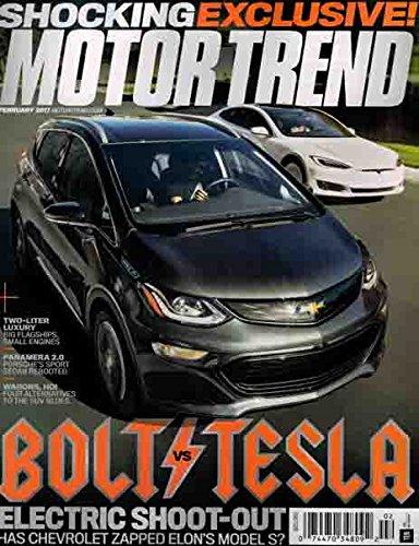 Motor Trend February 2017 Bolt vs. Tesla - Motor Trend Magazine Shopping Results