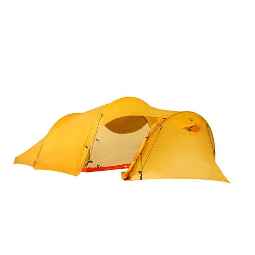 Yuhong Zelt, Leichtbauzelte 2 Personen Camping wasserdicht Windproof 4 Seasons Wandertouren Tent(400  160  110cm)