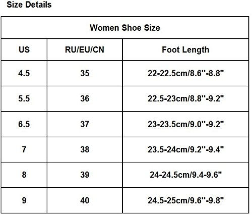 AMA(TM) Women Cotton Leather Flat Heels Boots Winter Warm Snow Boots Shoes Red dkLmYcuEX