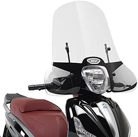 Motorrad Windschutzscheibe Airstar Piaggio Medley 125 2016 Givi Transparent A5606a Montagesatz Auto