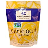 Citric Acid - 5 Pounds - Non-GMO Project Verified, Organic, 100% Pure - Great for bath bombs