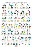 Fragenbär-Lernposter: Mein großes Schreibschrift-ABC in der Schulausgangsschrift (SAS), L 70 x 100 cm (Lerne mehr mit Fragenbär)