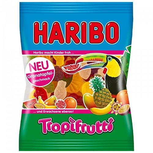 4x Haribo TROPIFRUTTI each Bag 200g (German Import)