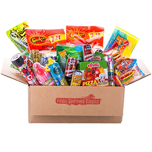 Mega Super Fun Candy Gift Pack (Mega Jumbo 36 Candies!!!)