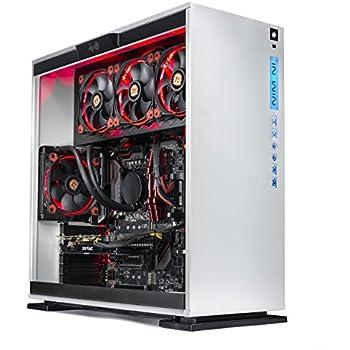 SkyTech Omega Gaming Computer Desktop PC Intel i7-7700K 4.2Ghz, Liquid Cooled, GTX 1080 Ti 11GB, Samsung 850 EVO 250G SSD, 2TB HDD, 16GB DDR4, Z270 Motherboard, Win 10 Pro