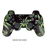Designer Skin for Playstation 3 Remote Controller – Weeds Black