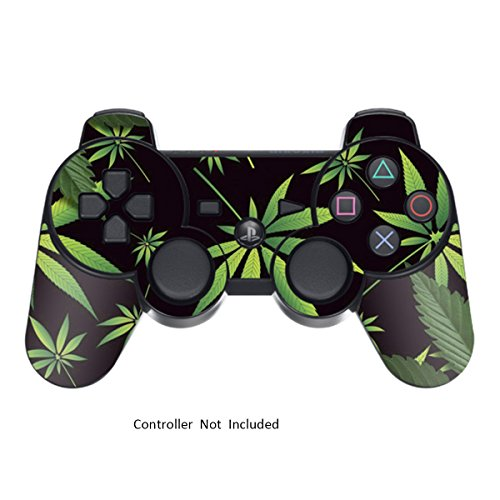 Designer Skin for Playstation 3 Remote Controller – Weeds Black