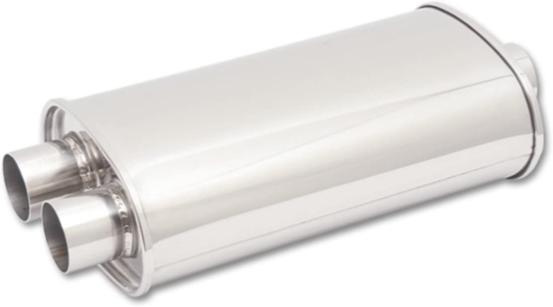 Vibrant Performance Universal STREETPOWER Oval Muffler Free Shipping 1040