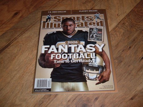 Sports Illustrated, July 24, 2006 issue-Reggie Bush-New Orleans Saints Rookie.