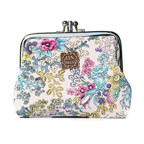 Classic Floral Exquisite Buckle Purse