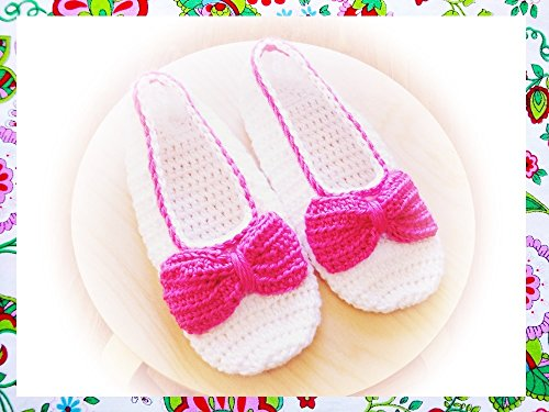 Kate Slippers Crochet Pattern (Crochet Slipper Sock Pattern)