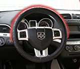 Glacier Heat Heated Steering Wheel Cover with Rechargeable Battery NO CORD 180° Coverage