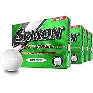 Srixon Soft Feel Personalized Golf Balls - Buy 3 DZ Get 1 DZ Free - Thin arrow ID-align