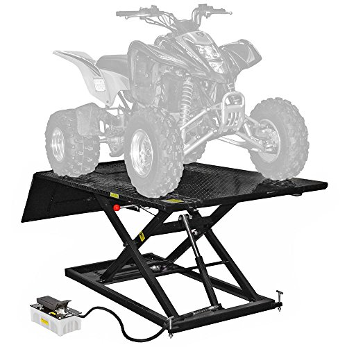 Black Widow MC-BEDRACK-EXT-V2 Hydraulic ATV Lift Table