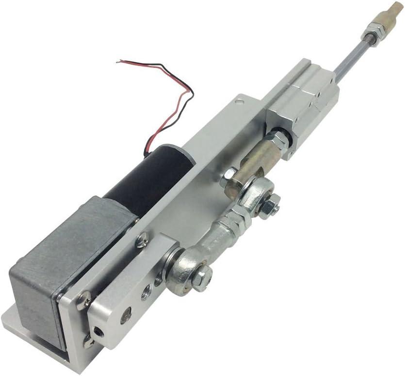 DC Worm Motor de engranaje 30 mm actuador lineal motor de reciprocidad para DIY diseño velocidad 8 16 27 35 55 110 160 260 RPM opcional