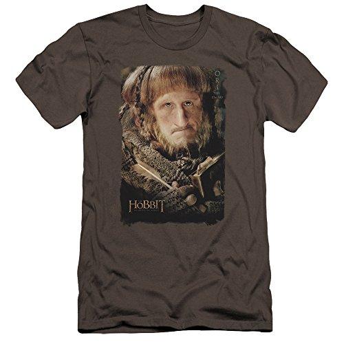 (The Hobbit - Mens Ori Premium Slim Fit T-Shirt, Size: X-Large, Color:)