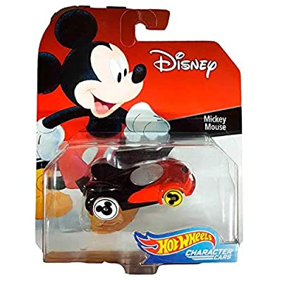 Hot Wheels Mickey Mouse Vehicle, Multi: Toys & Games