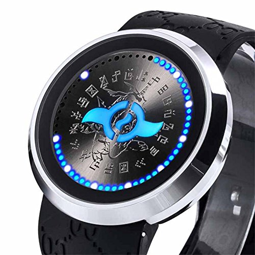 Digimon Watch Deluxe LED Screen Fashion Cosplay Costume Accessory Prop C]()