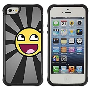 fashion Case Funny Awesome Smiley Apple Iphone 5c hjbrhga1544