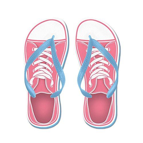 Sneaker Da Cafepress Rosa - Infradito, Sandali Infradito Divertenti, Sandali Da Spiaggia Blu Caraibico
