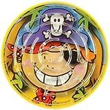 Lot de 8 Mini jeux labyrinthe pirate