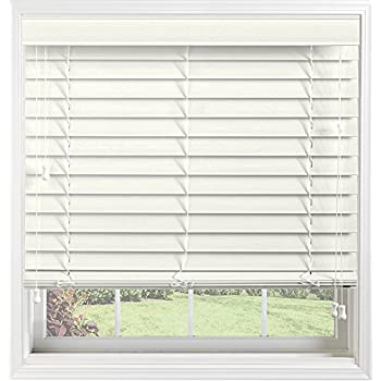 Amazon Com Bali Blinds Custom Faux Wood 2 Quot Corded Blinds