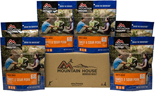 Mountain House Sweet & Sour Pork with Rice (Mountain House Freeze Dried Entrees)