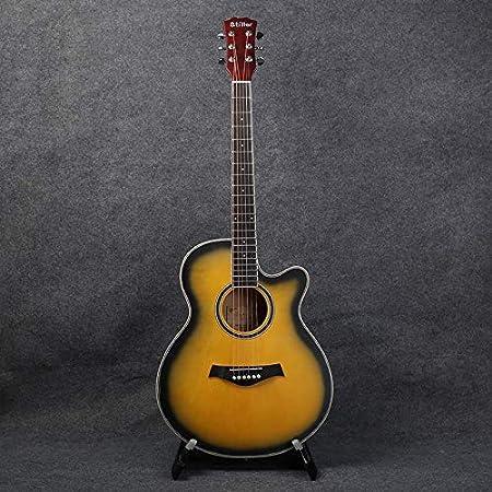 SUNXK De 40 Pulgadas Guitarra acústica Guitarra for Principiantes ...