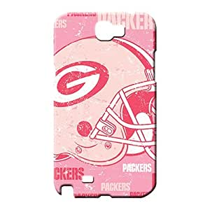samsung note 2 covers PC High Quality phone back shells green bay packers nfl football