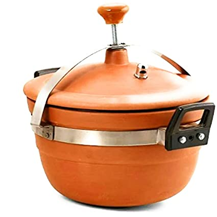 Buy Mitti Cooker Clay Cooker Cooking For Cooker 3 Litre With Combo