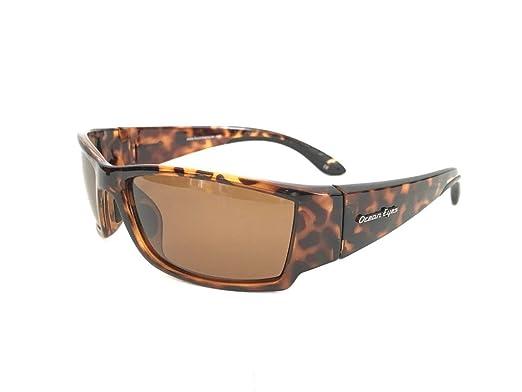 d0c1dabc1ad Amazon.com  Fish On Polarized Sunglasses Brown Tortoise Frame Shiny ...