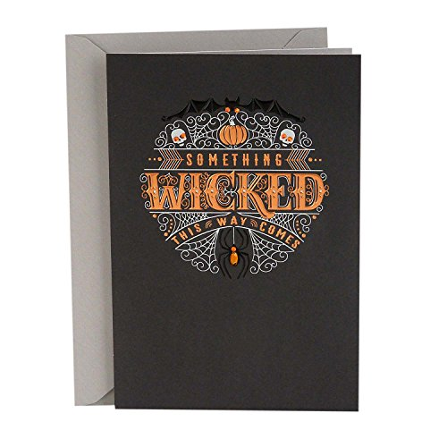 Hallmark Signature Halloween Card (Something Wicked) ()