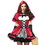 Disfraz Vestido Caperucita Roja Mujer