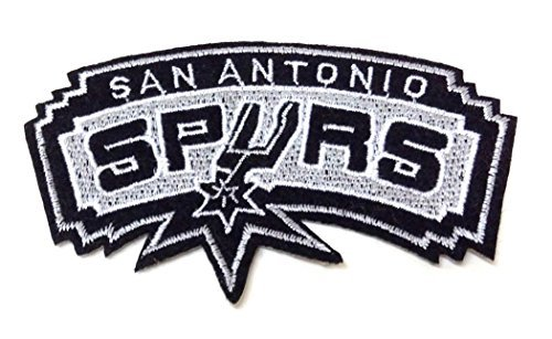 (NBA San Antonio Spurs Iron on Patch Embroidered 2