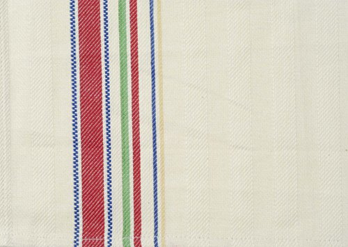Dunroven House Cream Towel, 20 x 28-Inch, Multi Stripe (Nostalgic Towel Tea Stripe)