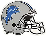 NFL Detroit Lions Outdoor Small Helmet Graphic Decal