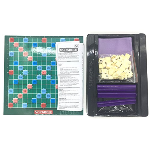 Silfrae Scrabble Board Game Letter Puzzle Game for Both Kids and Adults