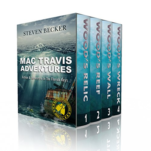 Mac Travis Adventures Box Set (Books 1-4): Nautical Thrillers cover