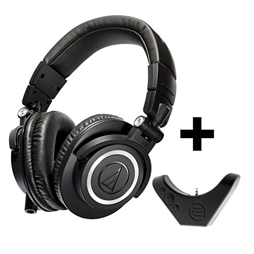 audio-technica-ath-m50x-professional-studio-monitor-headphones-with-bluetooth-adapter-amplifier-bal-