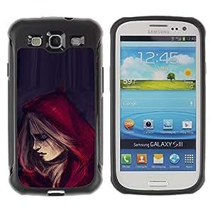 Suave TPU GEL Carcasa Funda Silicona Blando Estuche Caso de protección (para) Samsung Galaxy S3 III I9300 / CECELL Phone case / / Riding Hood Cape Fashion Woman /