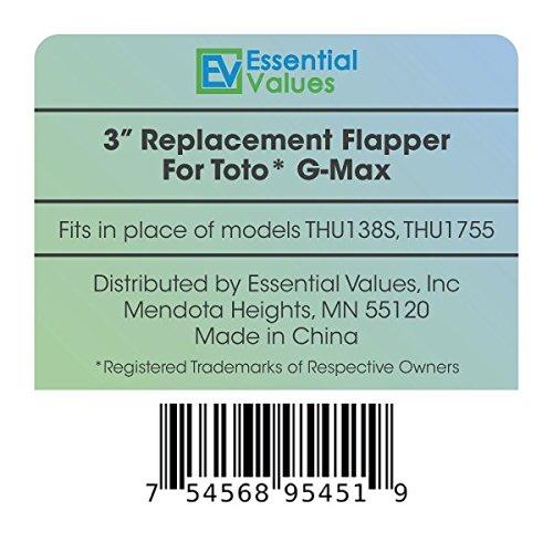 Toto Flapper G-Max, THU499S, & 2021BP Models, Values