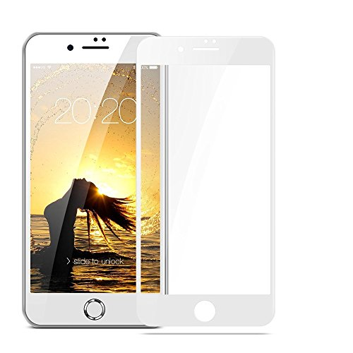 iPhone 8 /7 /6 /6S Screen Protector,Single Pack by Bronstarz,Thinnest Tempered Glass for iPhone 8 iPhone 7 iPhone 6 iPhone 6S,Anti-Scratch,Case Friendly,Retail (Screen Protector Single)