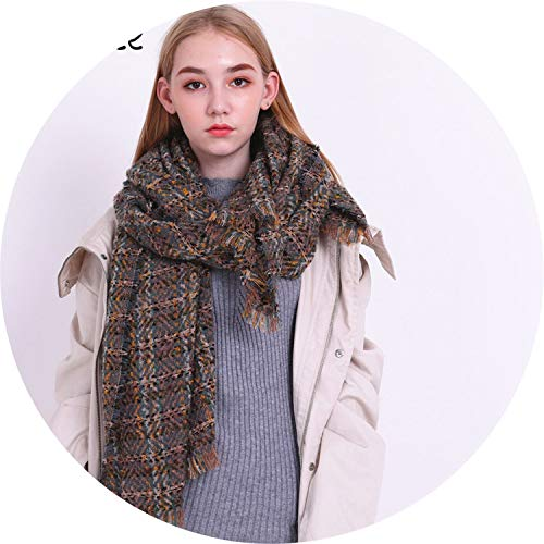 Winter scarf women 2018 triangle warm scarf Female, used for sale  Delivered anywhere in USA